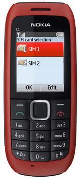 Nokia C1-00 (Dual-SIM)