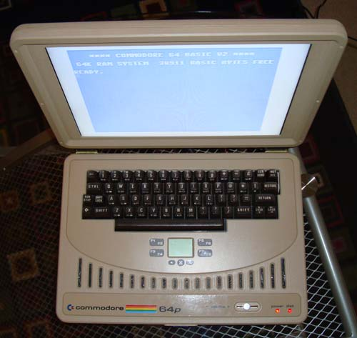 Commodore C64 Laptop