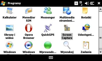 Sonyericsson Xperia programy