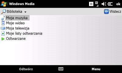 Sonyericsson Xperia Windows Media