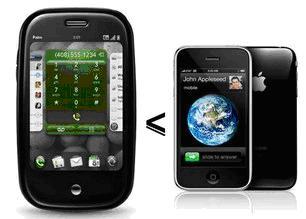 Palm Pre - iPhone 3GS