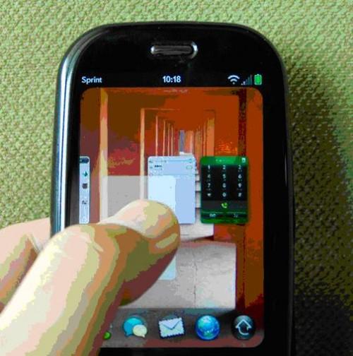 Palm Pre trójwymiarowy interfejs