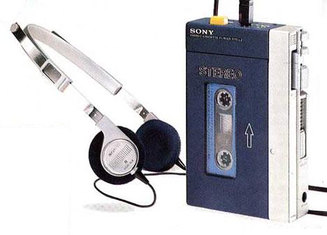 Pierwszy Walkman Sony TPS-L2 1979