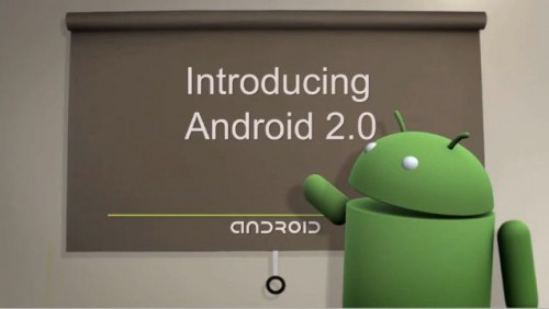 Google przedstawia Android 2.0 Eclair w Android SDK