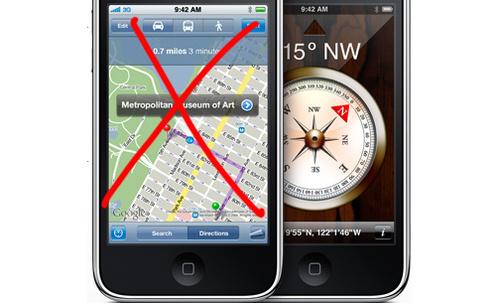 Apple kupuje firmę tworząca bazę danych map z całego świata, żegnaj Google maps?