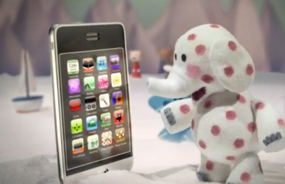 iPhone niedopasowaną zabawką?