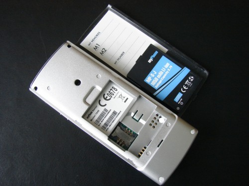 Test myPhone 1040 senior - gniazdo SIM