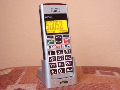 myPhone 1040 senior - wybieranie numeru