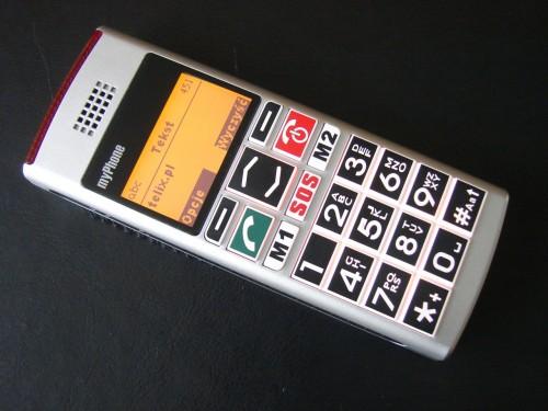 Test myPhone 1040 senior - wiadomości SMS