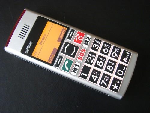 Test myPhone 1040 senior - książka telefoniczna