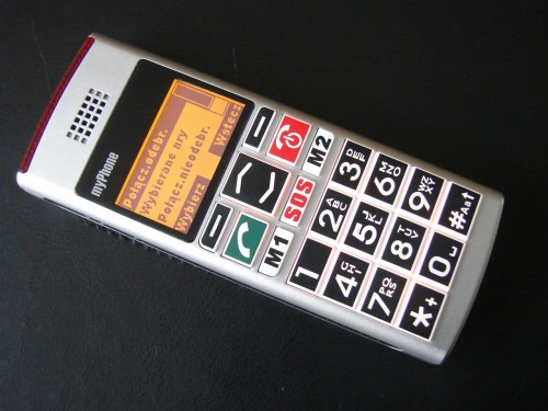 Test myPhone 1040 senior
