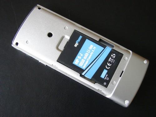 Test myPhone 1040 senior - bateria