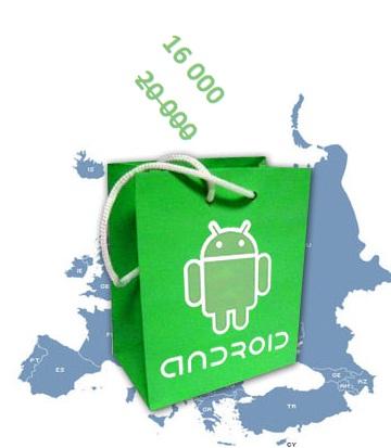 Android Market ma jednak 16 tys. aplikacji