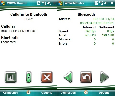 WMWifi Router - Access point Bluetooth
