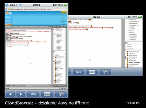 iPhone 4G - Java na iPhone