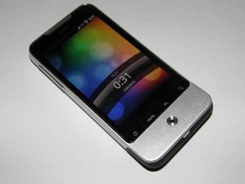 Test HTC Legend