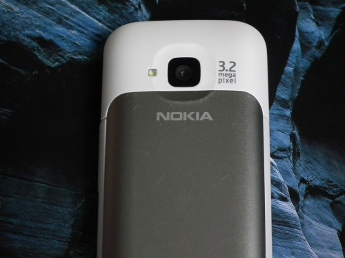 Test Nokia C5 - aparat i lampa LED