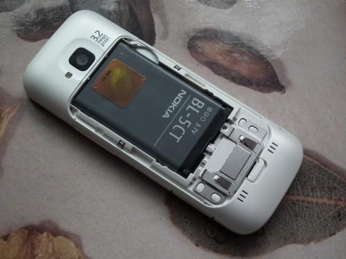 Test Nokia C5 - bateria