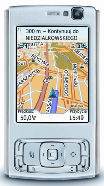 Telefon z GPSem