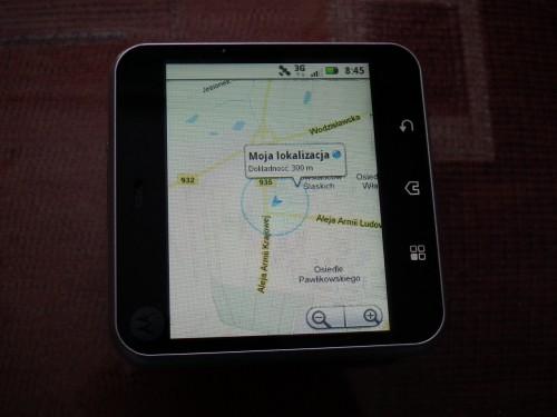 Test Motorola FLIPOUT - nawigacja