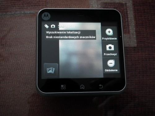 Test Motorola FLIPOUT - ustawienia aparatu