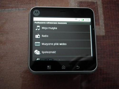 Test Motorola FLIPOUT - multimedia