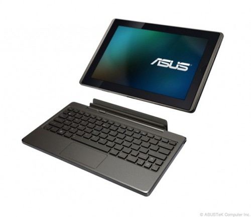 Asus przedstawia oficjalne cztery nowe tablety: Eee Pad Slider, Transformer, MeMO oraz Slate EP121