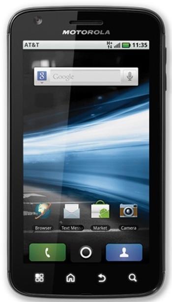 Motorola przedstawia smartphone z układem Tegra 2 oraz Androidem- Atrix 4G