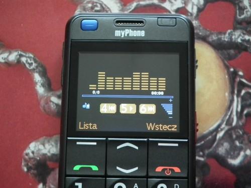 Test myPhone 1080 DURO - odtwarzacz muzyczny
