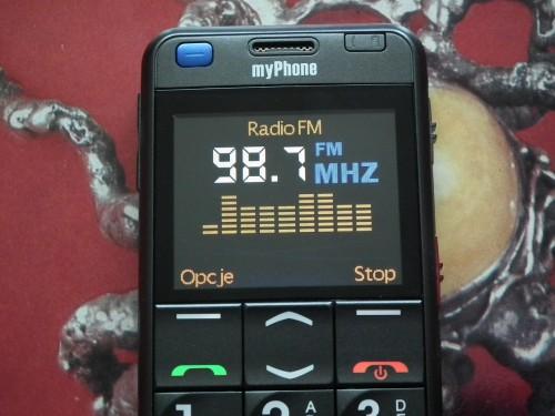 Test myPhone 1080 DURO - radio FM