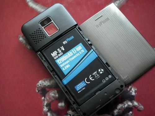 Test myPhone 1080 DURO - bateria