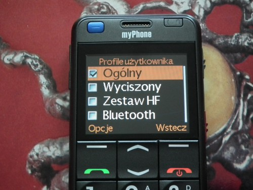 Test myPhone 1080 DURO - Profile