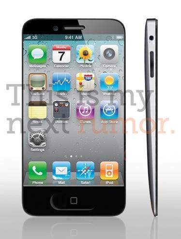 Czy iPhone 5 będzie przypominał wyglądem iPod Touch?