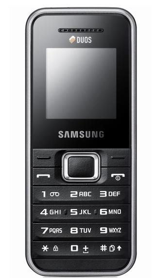 Samsung przedstawia nowe modele dual SIM: E1182, E2232 oraz C3322