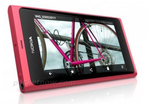 Czy tak wygląda Nokia N9 z MeeGo?