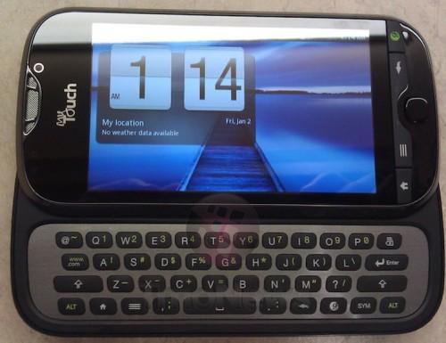 T-Mobile myTouch 4G Slide- brandowany smartfon z Androidem