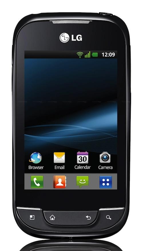 LG Optimus Pro oraz LG Optimus Net z Android Gingerbread oficjalnie zaprezentowane