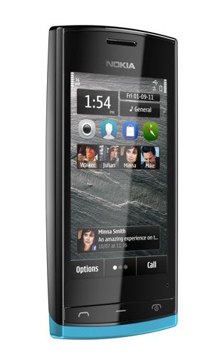 Nokia 500- pierwszy smartfon fińskiego producenta z 1GHz procesorem- wideo