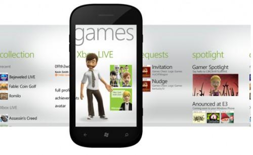 Nowe gry, funkcje Xbox LIVE w Windows Phone Mango