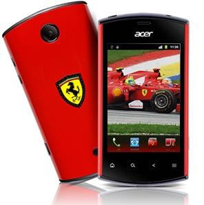 Acer Liquid Mini Ferrari Edition