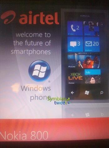 Nokia 800 - pierwszy smartfon Nokia z Windows Phone