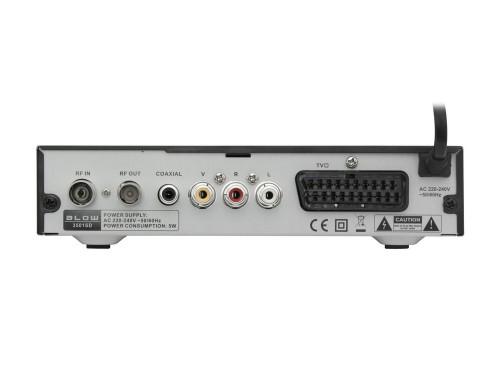 BLOW DVB-T 3501SD: tył
