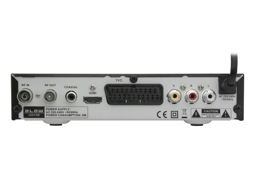BLOW DVB-T 4501HD: tył