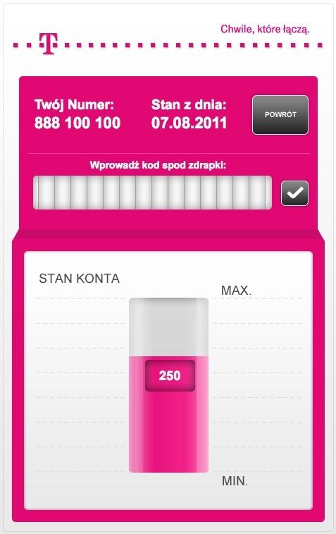 T-Mobile aplikacje doładowania