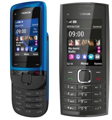 Nokia C2-05 i Nokia X2-05