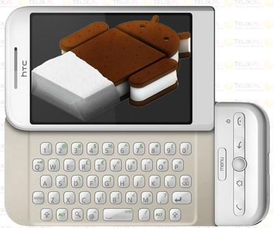 HTC Dream ICS