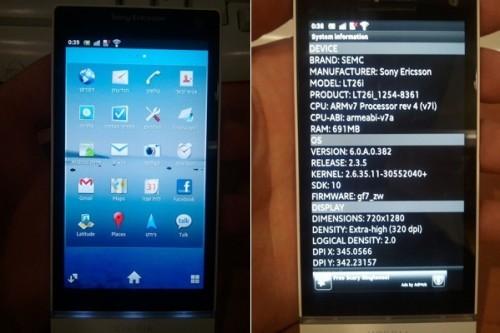 Sony Ericsson Xperia Nozomi LT26i: pierwsze informacje