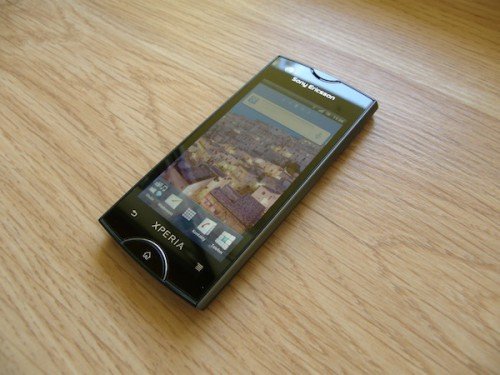 Test Sony Ericsson Xperia Ray