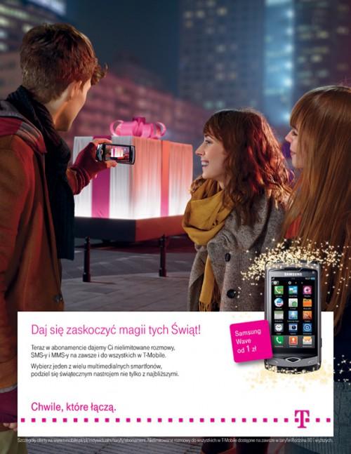 Promocje świąteczne w T-Mobile