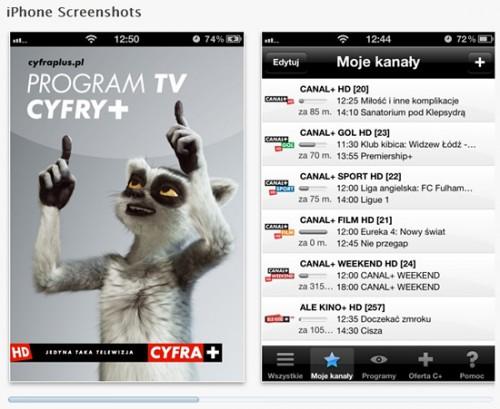 Aplikacja CYFRY+ na iPhonach i iPadach